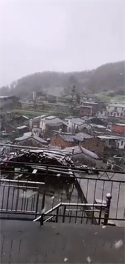 景德镇今天冷哭了!江西好多地方都下雪啦!接下来天气…
