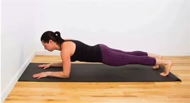 坤阳瑜伽培训:头倒立原来如此简单,看图,头倒立就会了