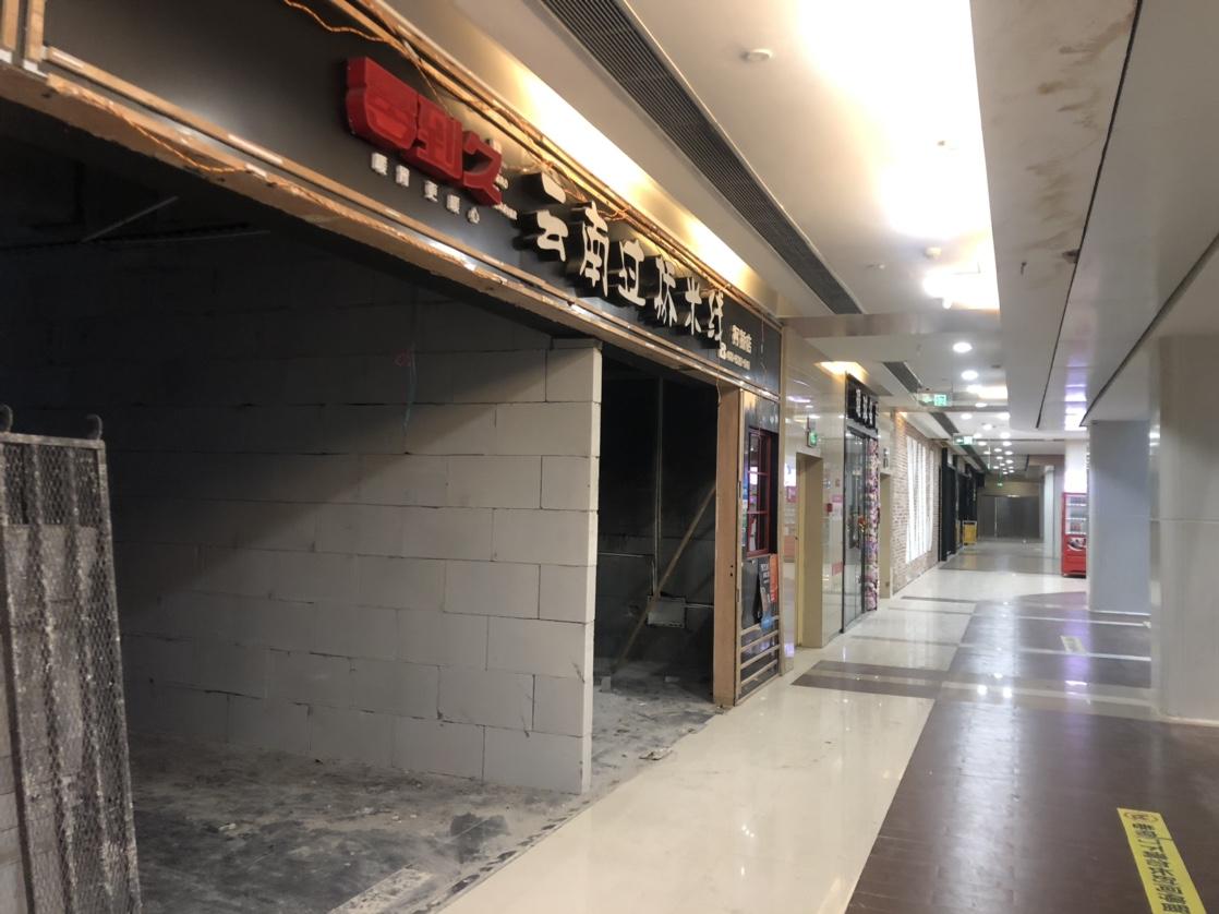 绍兴银泰多家店面倒闭!商铺全搬空,整栋都没人