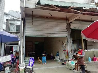 黄泽镇原菜场房子一楼原店面,三楼住房出租