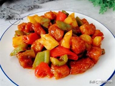 菠萝季不能错过的美食,菠萝咕老肉,教你家常做法,3步就完成