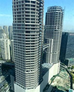 """高210.8米,好多人投资!绍兴最大烂尾楼终于要""""动""""了"""