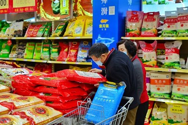 """有人抢米屯米,""""粮荒""""要来了?湖州各大超市实际情况是…"""