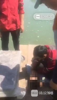 嵊州老人疾呼:河面浮着个人!路人扑通一声跳水施救