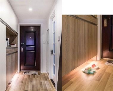 吉安两居室90北欧风格装修,榻榻米设计很好,双子儿童房!