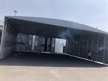 六安市大型仓储物流活动雨蓬伸缩雨棚13486965858