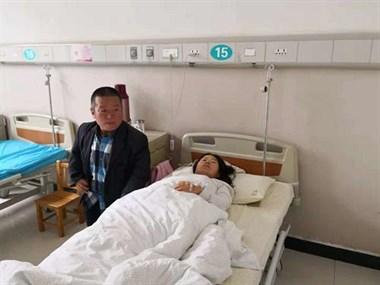 德清这家人噶塞古!妻子被查出肺癌,已转移到脑子和肝脏…