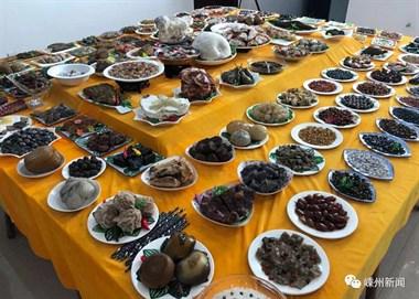 """嵊州这120多道菜的""""满汉全席"""",竟都是石头做的!"""