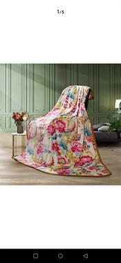 【转卖】卖富安娜法兰绒毯