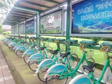 公共自行车系统亟待维修!
