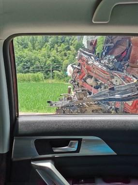 出门开车不要急,不然后果承担不起