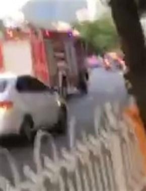 出事了!延平闹市区消防车呼啸而过,不少社友都看到