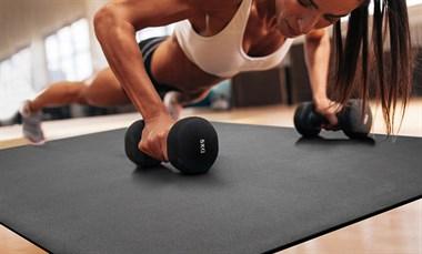 轻松教你如何选择健身地垫