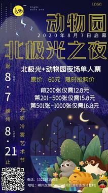 动物园极光之夜,汤泉汇,梦幻嘉年华