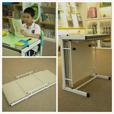 贝德思科学生一体课桌椅,守护孩子学习和健康休息!