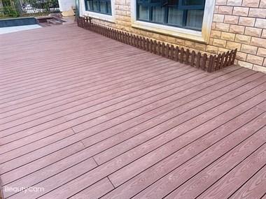 【转卖】精品户外塑木压纹地板,质量杆杆滴