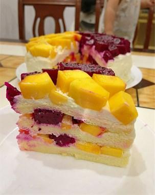 天台小伙给老婆做了个潦草的糕,口感却是一级棒