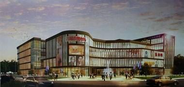 景德镇这市场最新进度!主体结构完成 又要开一家沃尔玛?