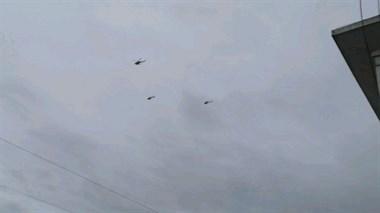 刚刚!社友实拍!景德镇这附近好几架飞机一直在盘旋