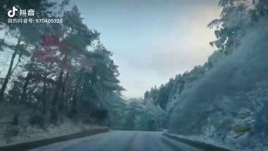 震撼!天台绝美雪景刷爆朋友圈,不少人半夜上山拍雪