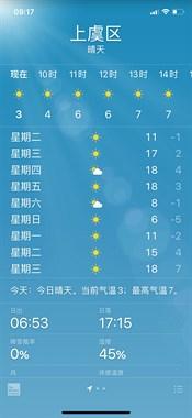 这个天气预报是给我上幼儿园的儿子量身定做的吧。