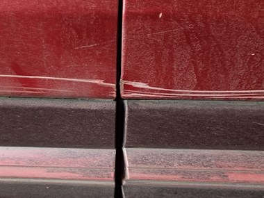 急寻肇事者!我车子停在下园赵被刮!底漆都看得见!