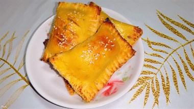 蛤蜊酿虾滑+香蕉苹果派