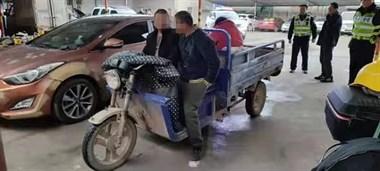 悲剧!甘霖一电动三轮车与垃圾车相撞,1人抢救无效死亡