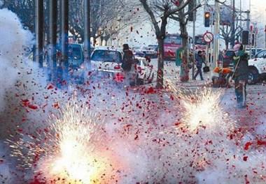 岱山发布倡议书:拒绝燃放烟花爆竹,实在要放的话...