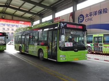 上虞公交的黄海客车时代!