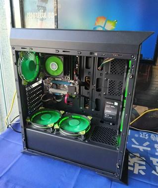 四核英雄联盟办公游戏电脑主机