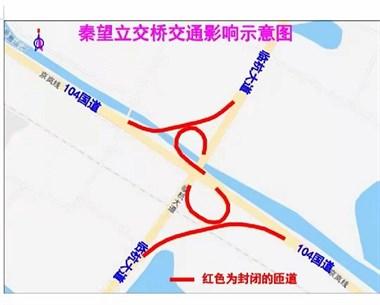今日起,绍兴该道路施工,4条匝道全封闭!