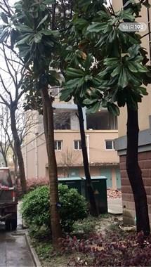 严罚!海宁某小区有工人高空抛建筑垃圾,胆子忒大!