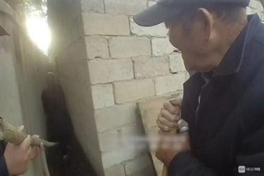惊险!绍兴一老人被卡墙缝10多小时,部门联动紧急救援