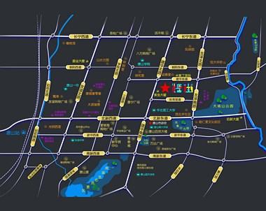 唐山糖街时代广场位置好吗?