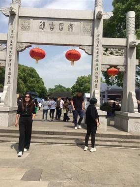 五一假期第一天,游安昌古镇!现场人真的好多