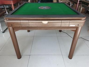 【转卖】全新高端木纹静音餐桌麻将机1580元