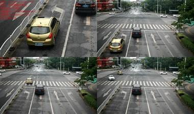 高清曝光!这些车在海宁闯红灯、违法变道……