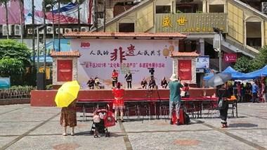 南平骄傲!今天激情广场有演出!不少人盛装出席!