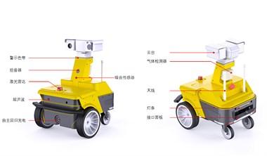 从园区到工厂 智能巡检机器人应用广泛