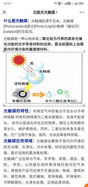 北极光光触媒(光催化)。