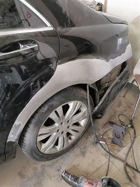 南平第一家汽车无腻子,无石膏,无原子灰修复,修复完直接喷