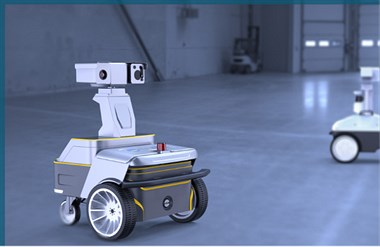 安防巡逻机器人可实现自主移动、全方位无盲点巡检