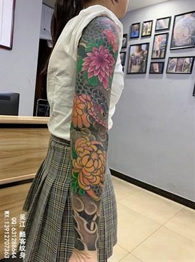 2021年什么样的纹身才是顶流来吴江酷客纹身店定制吧