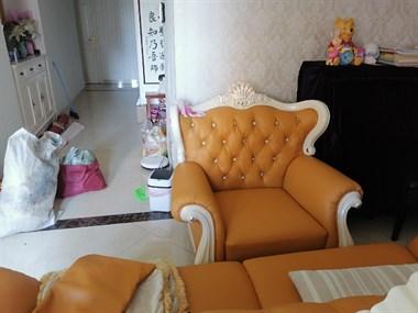 翻新沙发包床头包凳子