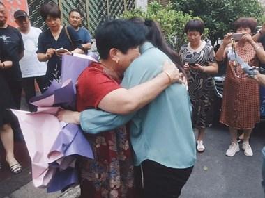 离散45年!天台年近80老夫妻终于找到女儿,三人拥抱大哭