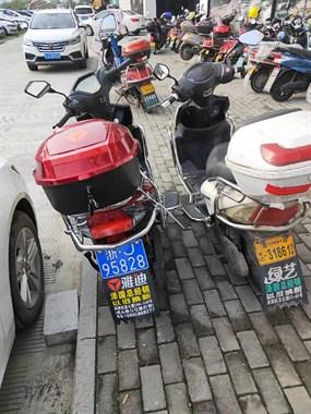 【转卖】出售两个电瓶车