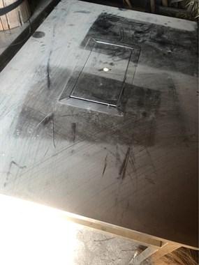 【转卖】不锈钢无烟烧烤炉 烤羊排 不锈钢桌