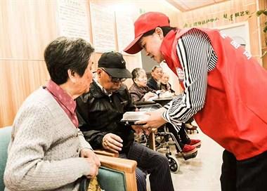 【关爱老人敬老院服务活动】