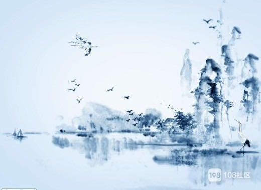 《水墨丹青》^_^开口就是一幅画